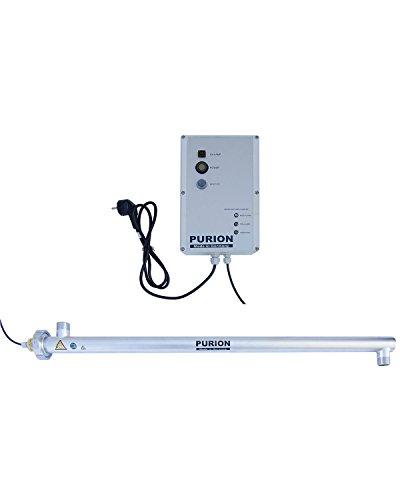 PURION 2500 UVC-Anlage bis 4.000 l/h Wasseraufbereiter mit UV-C(PURION 2500 90W mit Lebensdauerüberwachung)