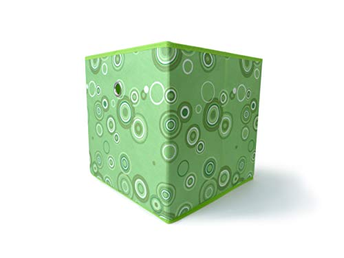 Mixibaby - Caja plegable para estantería, diseño de círculos
