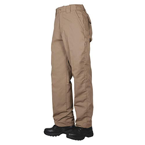 Tru-Spec Pantalones clásicos Casuales para Hombre de la Serie 24-7, Hombre, Pantalones Informales, 11890, marrón, 30W / 30L