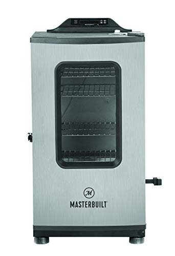 Masterbuilt MB20073919 Electric Smoker, Black/Stainless Steel