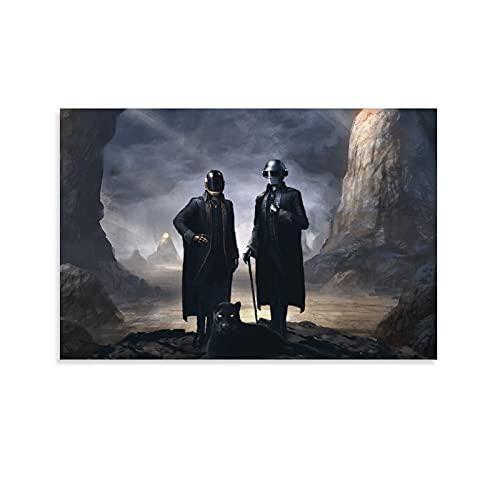 WEIFENGXUXU Daft Punk Starboy 3 Poster Decorative Painting ...