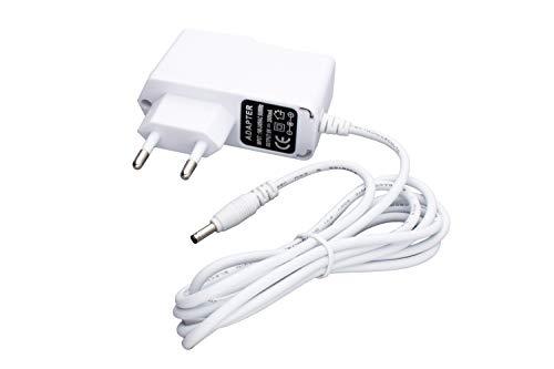 DC Netzgerät 5V, 2000mA, für 3,5mm x 1,35mm Holstecker mit Kabellänge 1,5m, Netzteil z.B. für InStar IP Cameras, weiß