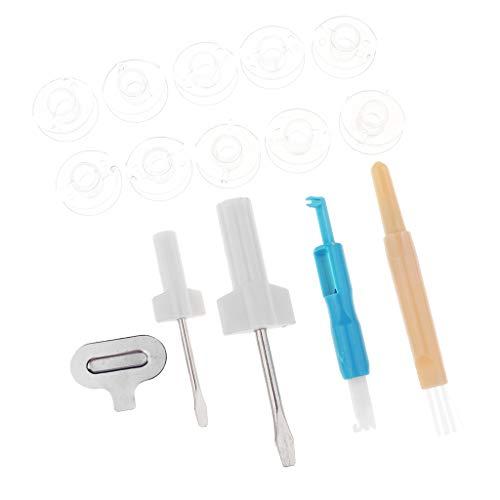 IPOTCH 1 Kit de Herramientas de Máquina de Coser 3 Destornillador Herramienta de Artesanía de Costura