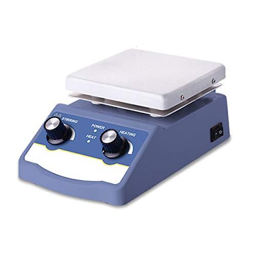 XXJIC Sucastle Heating Magnetic Stirrer Hot Plate Lab Stirrer Digital Display Magnetic Mixer Lab Equipment 1L 3L 5L With Stir Bar (Color : HS-12)