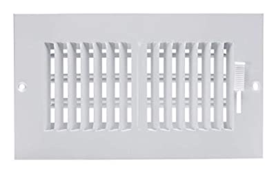 Accord ABSWWH2104 Sidewall/Ceiling Register with 2-Way Design