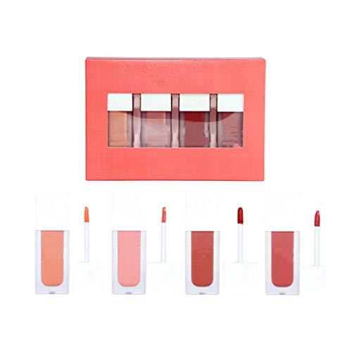 Lurrose Liquid Blush Set Aquarell Rouge Natürlich aussehendes lang anhaltendes Wangenrot-Make-up-Gesichtspigment für die tägliche Bühnenperformance