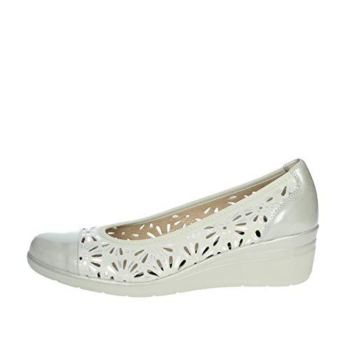 Pitillos 6622 Zapatos con Tacones Mujer Gris Hielo 40