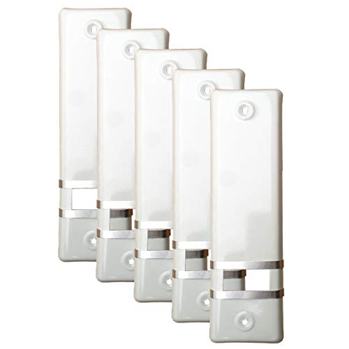 5x Rolladengurt Abdeckung Gurtwicklerblende | Weiß | 160mm | Ohne Gurtausbau