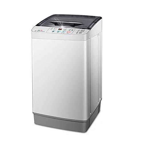 Mini Waschmaschine Kleine Tragbare Waschmaschine Vollautomatische 4.8kg / 10.5lbs WaschkapazitäT Einzelne Wanne Mit Ablaufkorb Haushalt Apartment Smart Button Control
