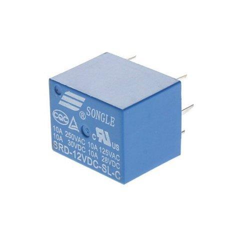 10x 12V Relais Leistungsrelais SRD-12VDC-SL-C 250VAC 10A; 30VDC 10A