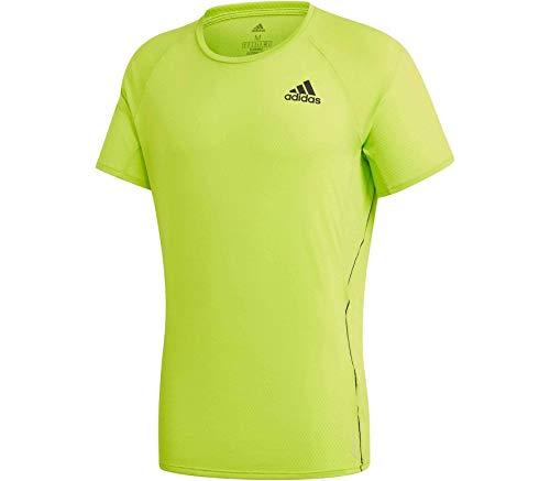 adidas Męski T-shirt Adi Runner, Signal Green, M