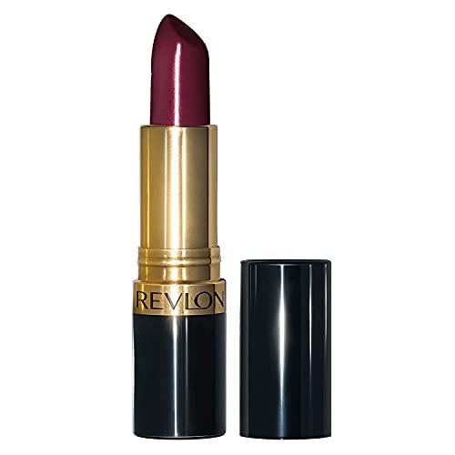 Rouge à Lèvres Revlon Super Lustrous, Formule crème hydratante à la couleur vibrante, enrichie en Vitamine E et en Huile d'Avocat,...
