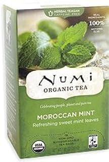 Numi Tea Moroccan Mint Herbal Tea (3x18 bag)