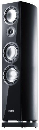 Canton Vento 890 DC Standlautsprecher (180/340 Watt) schwarz hochglanz (Stück)