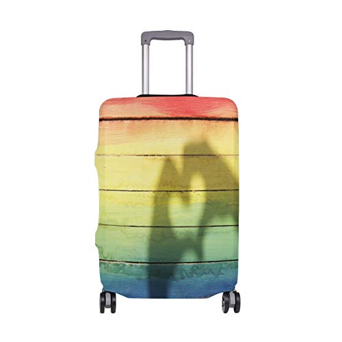 Suitcase Cover LGBT Love Super Lightweight Luggage Cover Protector fits 18-32 inch