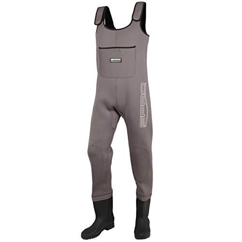 Spro Neoprene Chest Wader PVC Boots Neopren Wathose Gr. 46 7211046