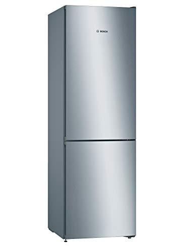 Bosch Serie 4 KGN36VLEAG 60/40 Frost Free Fridge Freezer - Stainless Steel Effect