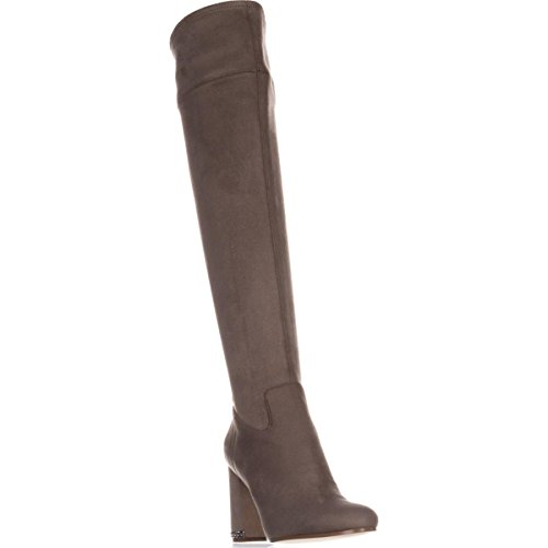 Michael Kors F6590 Stivale Donna eco Suede Jamie Taupe Stretch Boot Shoe Woman [37]