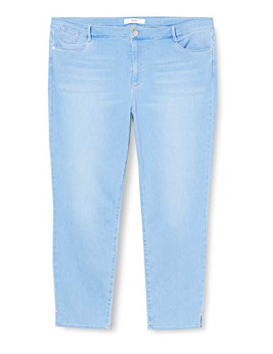 BRAX Damen Style.Shakira S Style Shakira Free to Move: Modische Five-Pocket-Röhre Skinny Fit, Used Fresh Blue, 52