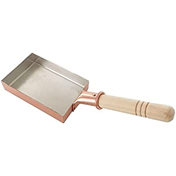 中村銅器製作所 銅製 玉子焼鍋 ミニ10(10cm×15cm)プロ愛用の卵焼き器 卵焼き用フライパン 卵がふんわり まろやかに 日本製