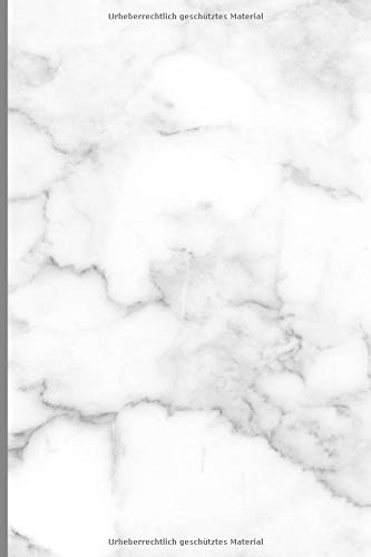 Design Notizbuch A5+ liniert Softcover: Schönes 120 Seiten dickes Ideenbuch I Edition Marmor A034 I Tagebuch, Notizheft, Journal, Reisetagebuch, Einschreibbuch