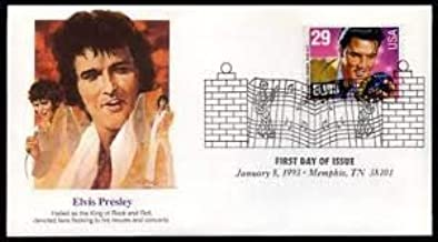 Elvis Presley Collectible 1993 First Day Cover Cachet FDC 2724