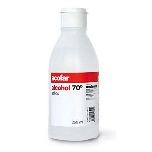ALCOFAR - ALCOFAR ALCOHOL 70º 250ML