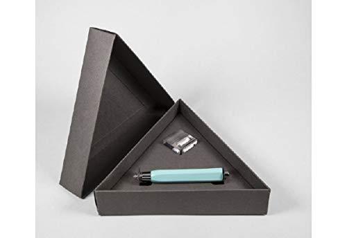 VITTORIO MARTINI Mat4 Penna Sfera Triangolare Azzurro Pastello