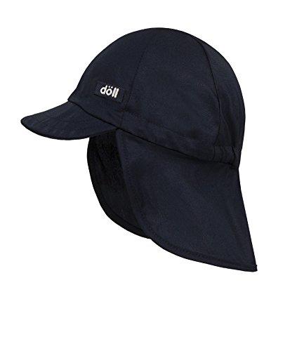 Döll Unisex Baby Baseballmütze mit Nackenschutz Schirmmütze, Blau (Total Eclipse 3000), (Herstellergröße: 57)