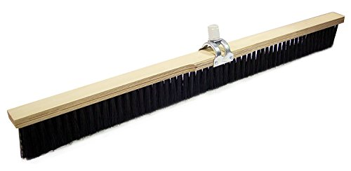 Bon 82-472 Concrete Finishing Broom with Adjustable Handle Socket, 36-inch