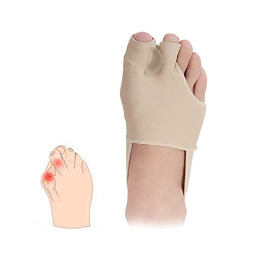 Bunion Corrector, Bunion Relief Orthopädische Sleeve Socken, Big Joint Schneider Zehenspreitzer Verbreiterungen Glätteisen für Hallux Valgus Foot Pain