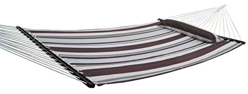 ABO Gear Double Hammock, Brown Stripe