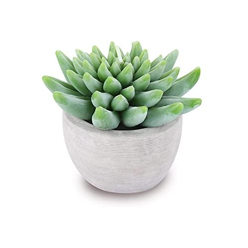 EMOHOME Citronella Scented Succulent Pot Candles &Cactus Decor Plant &Artificial...