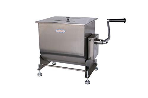 Hakka 80-Pound 40-Liter Capacity Tilt Tank Manual Meat Mixers