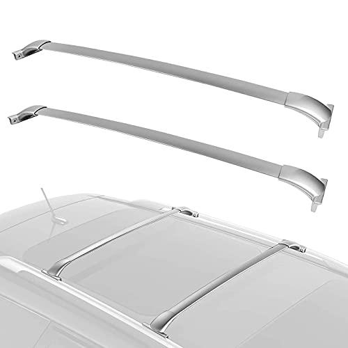 SFSGH Portapacchi per Nissan Pathfinder 2013 2014 2015 2016 2017 2018 2019 Barre trasversali Portapacchi in Alluminio per Auto Top Portapacchi Barre di carico