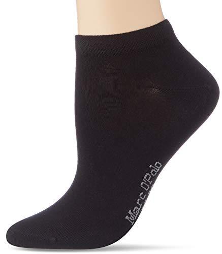 Marc O'Polo Body und Beach Damen Multipack W-sneaker 3-pack Socken, Schwarz, 39-42 EU