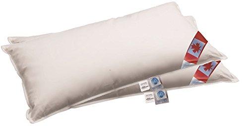 Bach's Betten Welt Angebot 2 x Pack 40x60 cm Premium Air Cell 3-Kammer Kissen außen auch als Reisekissen