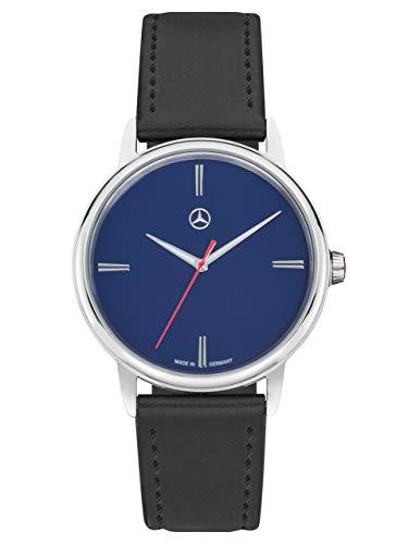 Mercedes-Benz Collection Armbanduhr Herren Basic | Herrenuhr, Armbanduhr, Edelstahl | schwarz, blau, Silber
