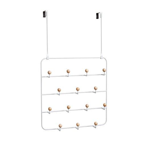 Umbra 1004045-660-REM Estique Over-The-Door Multi-Use Organizer, White