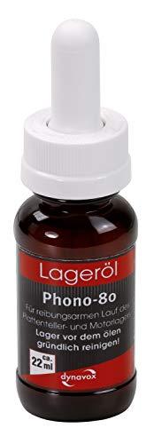 Sintron Dynavox Lageröl Phono-80 22ml