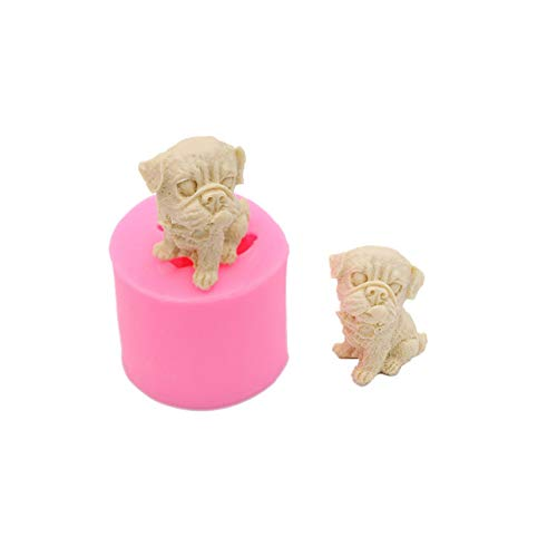 LINLIN Dogs Sweets Candles Molds Handmade Chocolate Diy Cakes Decorating Tools Kitchen Pastries Desserts Baking Too