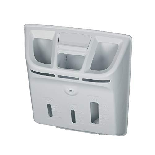 Waschmitteleinspülschale Wasserweiche Toplader Waschmaschine Waschgerät ORIGINAL Whirlpool Bauknecht 481010424468 passend auch 482000089808 Bosch Siemens 11003994 Indesit C00309448