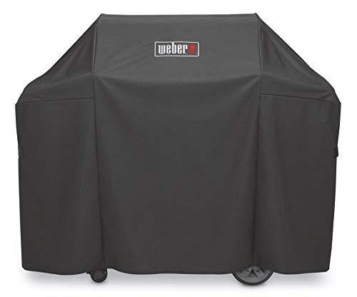 Weber Housse Premium pour Genesis série 300, noir, 113 x 147
