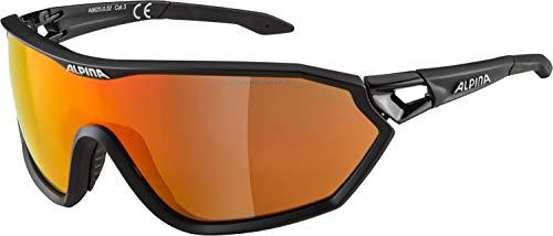 ALPINA Unisex - Erwachsene, S-WAY L CM+ Sportbrille, black matt, One size