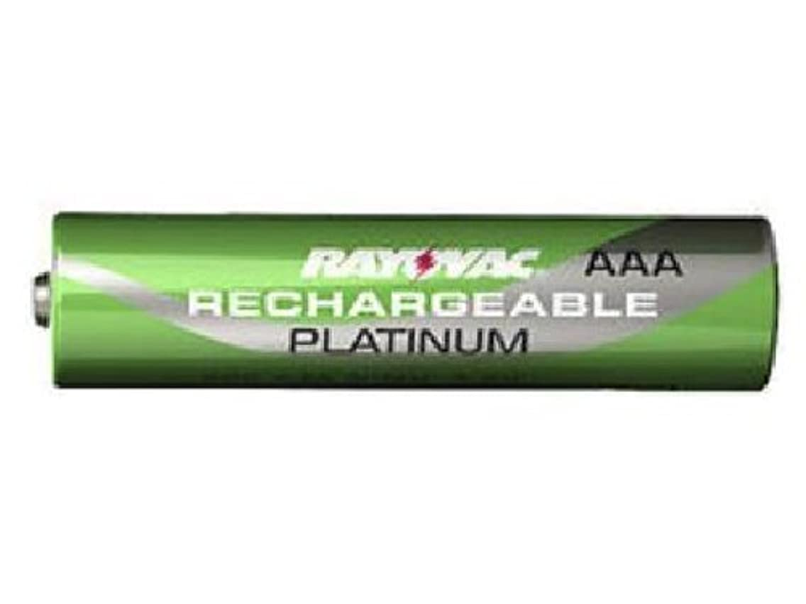 100 x AAA Rayovac Platinum Pre-Charged NiMH Batteries (750 mAh)