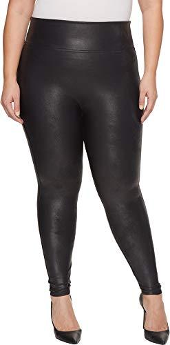 Spanx Damen 2437-black-m Legging, Schwarz (Black Black), 36 (Herstellergröße: Medium)
