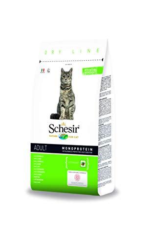 Schesir Cat Adult Maintenance Lamm, Katzenfutter trocken für erwachsene Katzen, Beutel, 1.5 kg