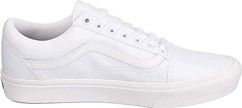 Vans Unisex-Erwachsene UA ComfyCush Old S Sneaker, Weiß ((Classic) True Vnvng), 39 EU