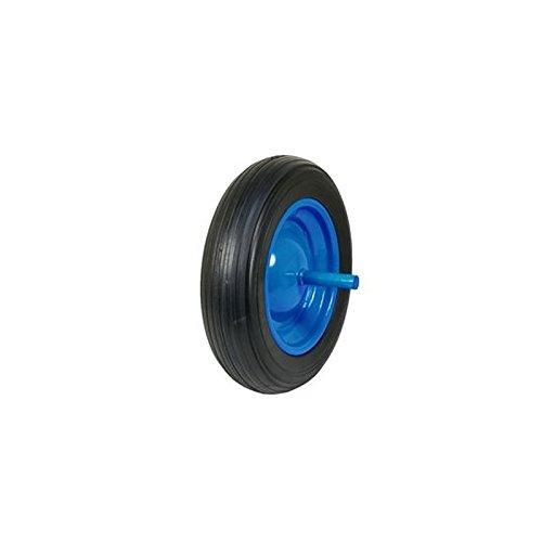 Rueda carretilla impinchable azul