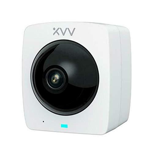 YXDS Cámara panorámica Inteligente Cámara para Exteriores 1080P Visión Nocturna infrarroja de Alta definición Seguridad para el hogar